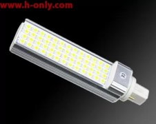 5W LED Plug in G24 corn lamp 170LM/W install in old